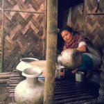Local woman