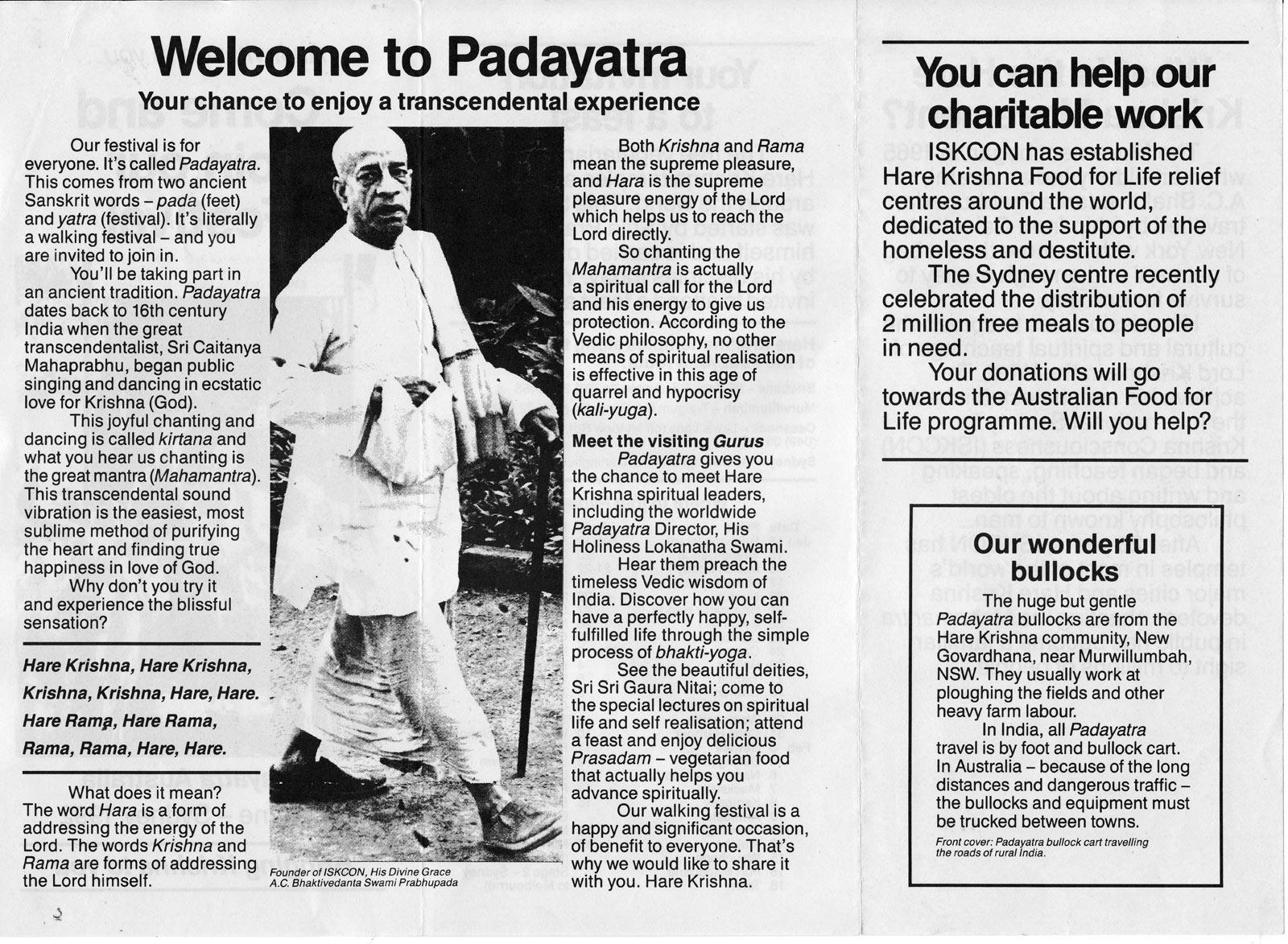 Manual - 1st part - ISKCON PadayatraISKCON Padayatra